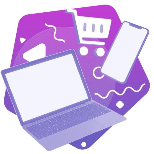 Ícone site e ecommerce